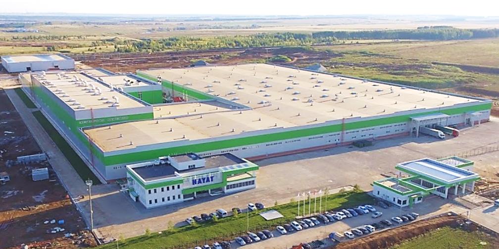 Завод по производству санитарно-гигиенической бумаги в ОЭЗ «Алабуга»