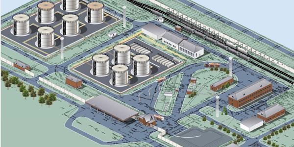 Реконструкция топливо-заправочных комплексов