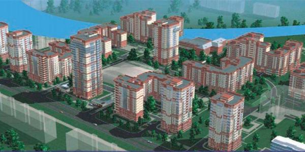 Жилой комплекс микрорайона 16А по ул. Дубравная