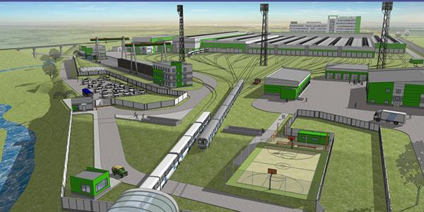 Объекты железнодорожного транспорта