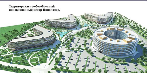 Иннополис-Территориально-обособленный инновационный центр. Верхнеуслонский район, РТ