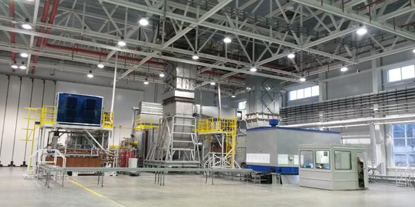 ОАО «Сатурн –Газовые турбины». Универсальный стенд для проведения контрольных заводских испытаний газотурбинных агрегатов