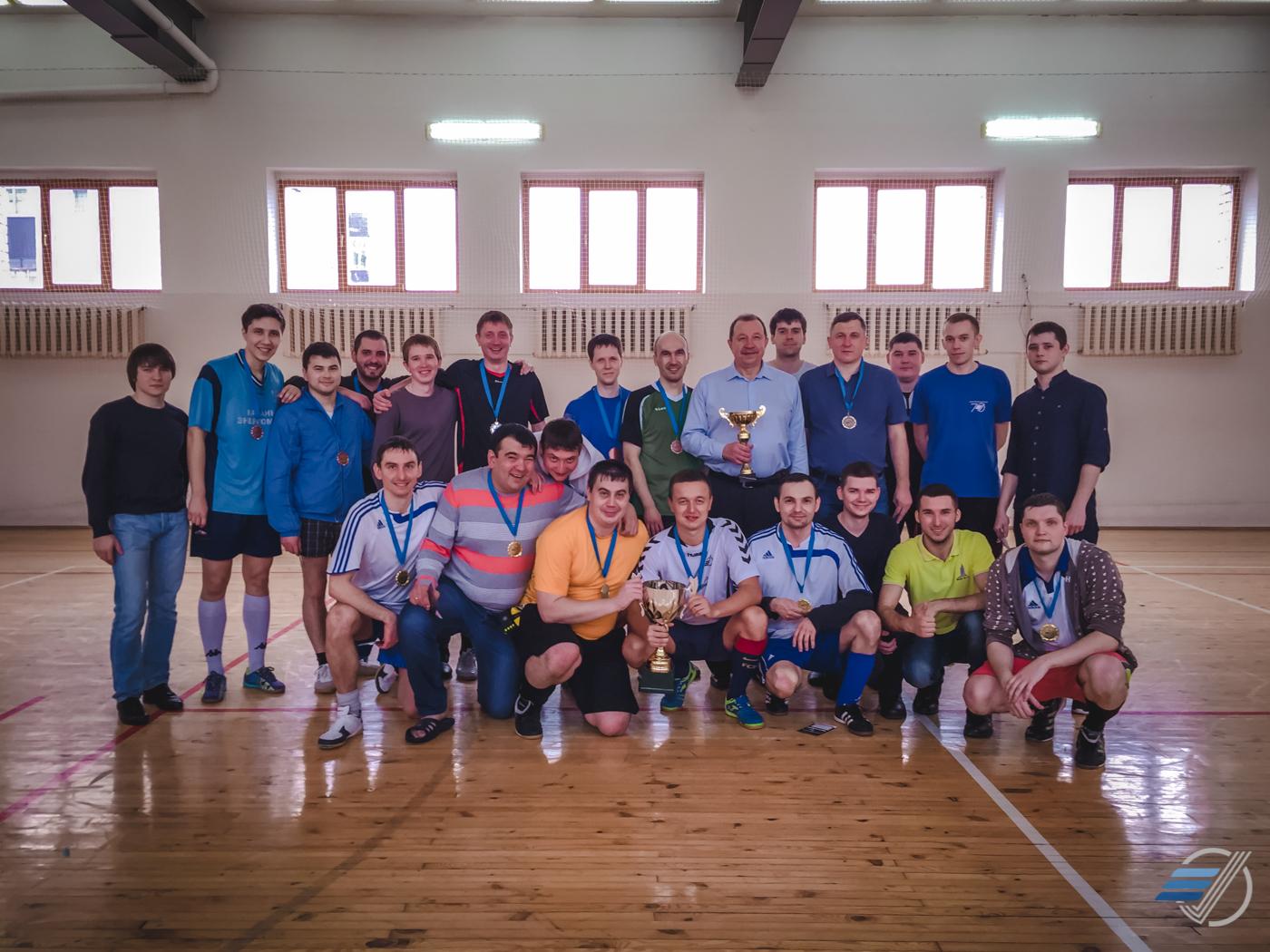 Прошел традиционный футбольный турнир. Поздравляем победителей!   29.02.2016