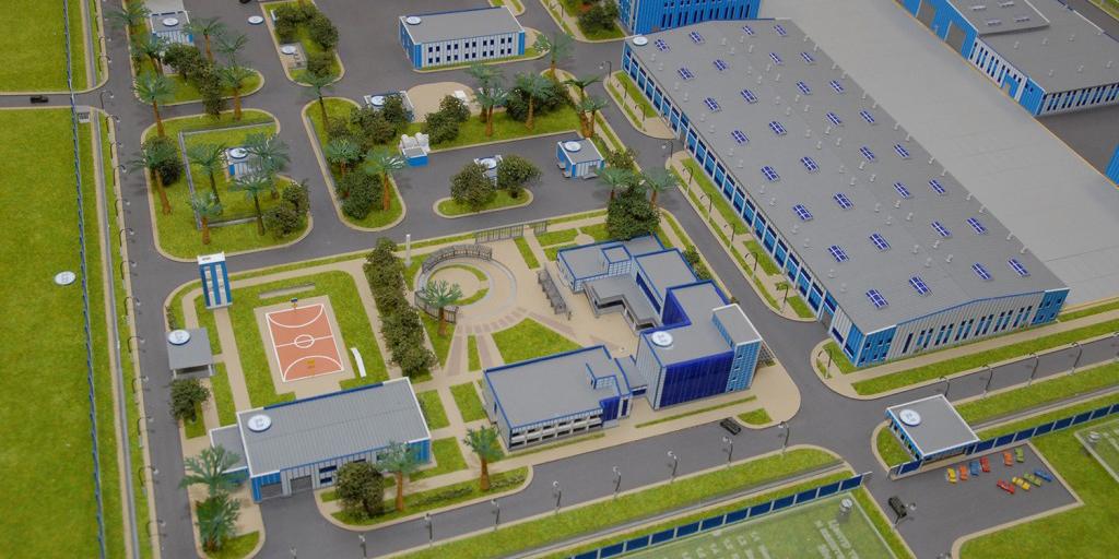 Центр технического обслуживания вертолетов