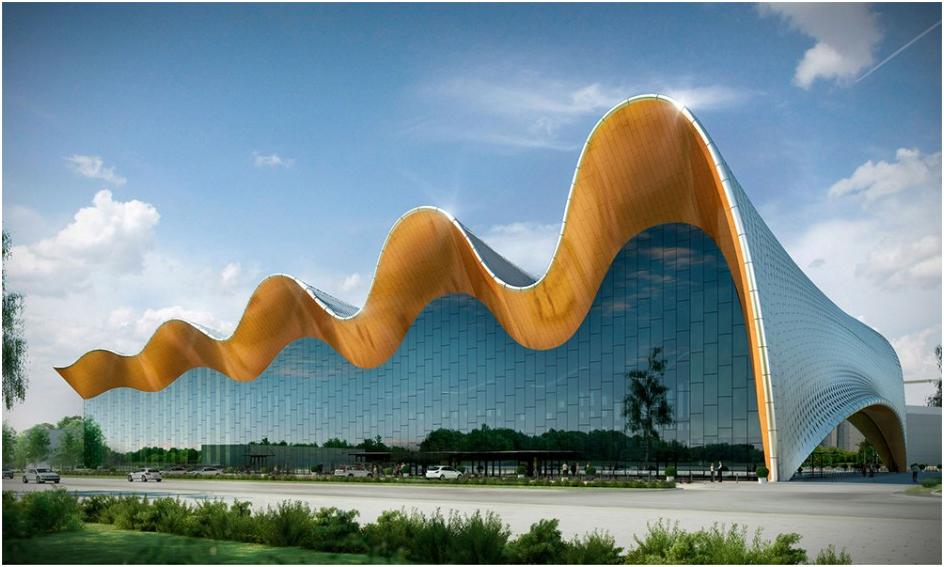 Лучшим в номинации «BIM-проект: спортивные объекты» признан проект Центра художественной гимнастики на территории Олимпийского комплекса «Лужники» (г. Москва).