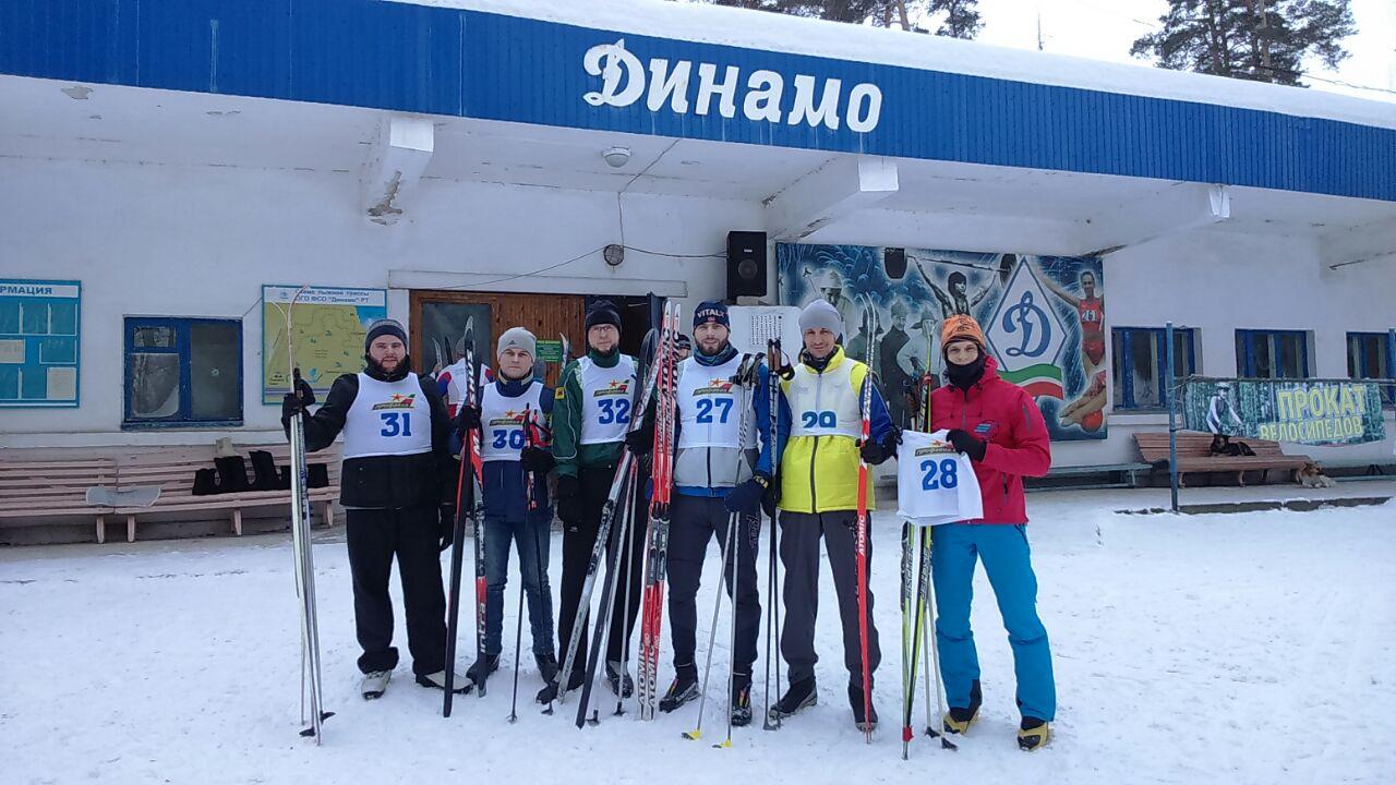 Золотая лыжня 2018