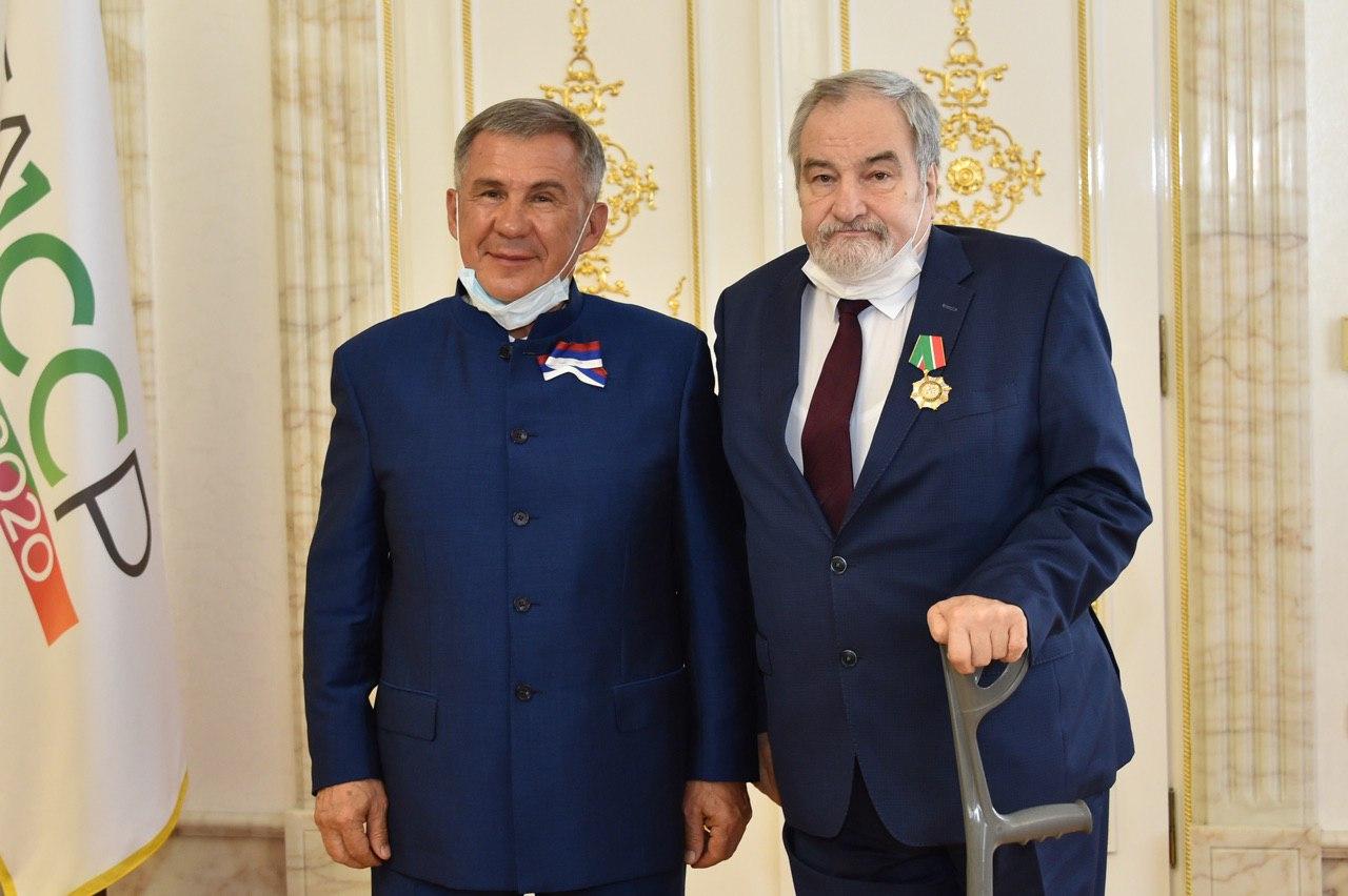 За заслуги перед Республикой Татарстан